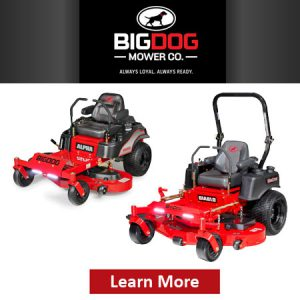 Zero-Turn Commercial Mowers by BigDog
