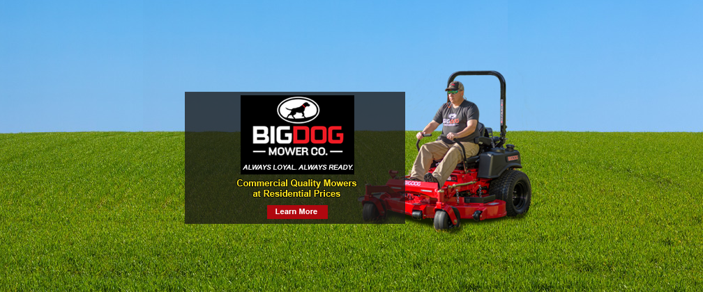 BigDog Zero Turn Mowers for Residential and Commercial Lawn Care